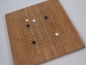 Preview: Bamboo Board, 19x19/13x13, 20mm, dark with printed Lines