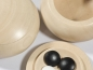 Preview: 9x9 Wooden Bowls, lime, light