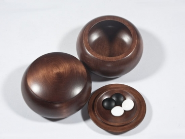 13x13 Wooden Bowls, Lime, Dark