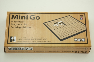 Mini Go, magnetic set 13x13
