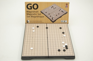 Magnetic Go Set, chinese, 19x19 board, 24x24cm