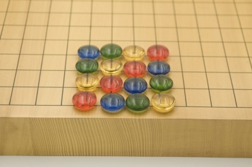 Colored Go Stones