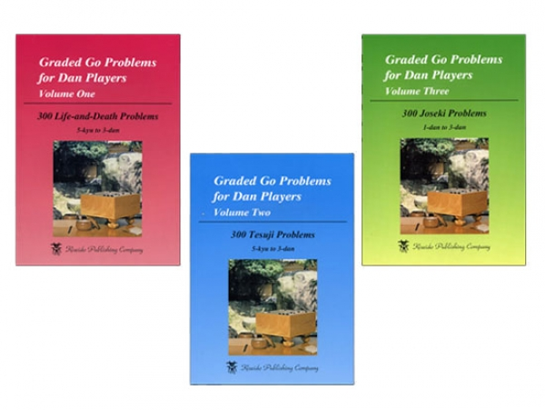 Graded Go Problems for Dan Players, Volumes 1-3