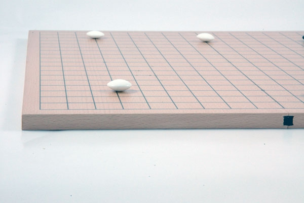 Beech Veneered Board, Magnetic Frame Joint, 19x19/13x13, 13mm