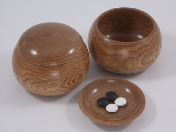 Japanese Nobel Bowls, Kuri (Chestnut Wood)
