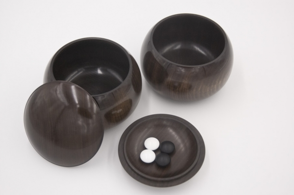 Japanese Noble Bowls, Kusu (Camphor Wood)