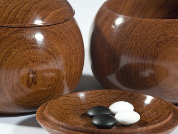Japanese Noble Bowls, Karin (Asian Hardwood)