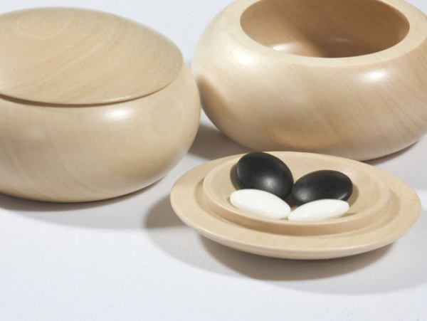 9x9 Wooden Bowls, lime, light