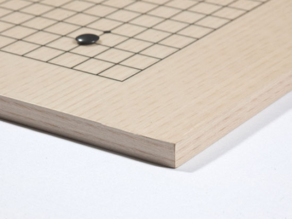 Go Board Set, beech veneer, small with